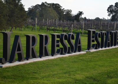 Jarressa Estate Winery in South Australia is one of our many happy clients
