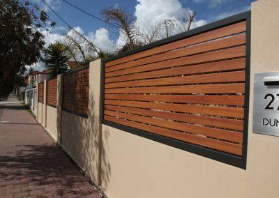 Leabrook Design; 65×16 Decowood Timber Look Slats Silky Oak Monument Frame Brighton