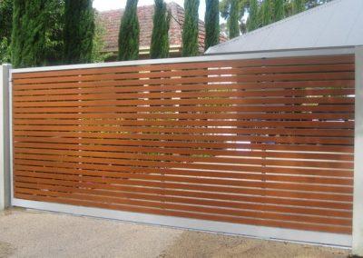 Springfield Design Western Red Cedar Slats 65x16mm Frame Shale Grey Westbourne Park