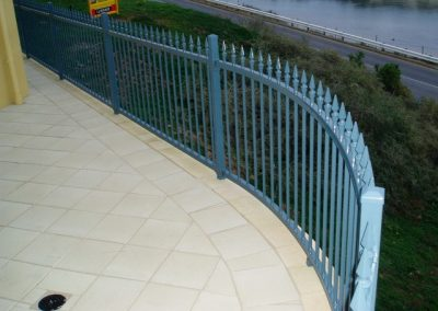 Seacliff Design Level Melrose Spear Contoured Panels to follow retaining wall Blue Ridge Port Noarlunga South