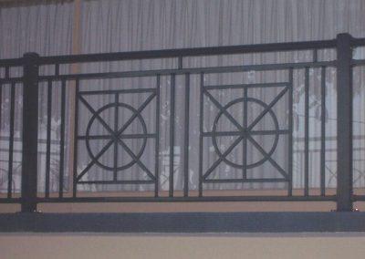 Mariner Design with Handrail Marino Satin Black