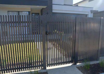 Tusmore Design 38x25 Single Gate with Lokk Latch Somerton Park Monument