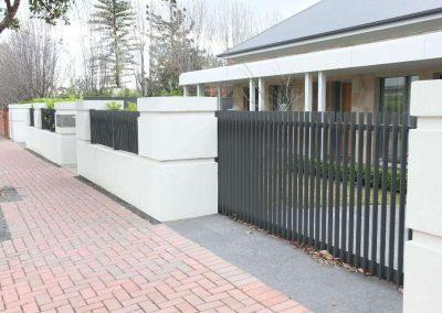 Burnside Design 50x10 On Edge Sliding Gate Magill Monument
