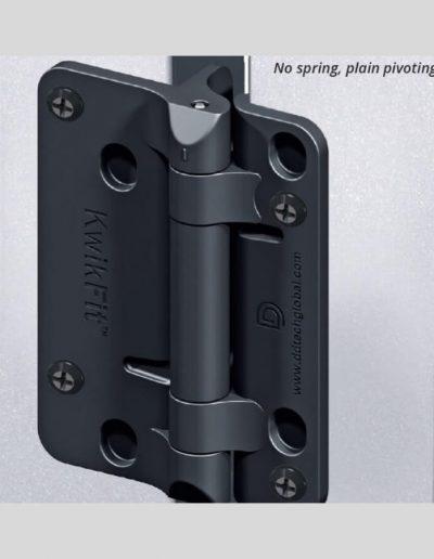 Black Polymer (No spring) Hinge