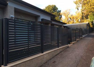 Leabrook Design Horizontal 65x16 Slats Hazelwood Park Woodland Grey