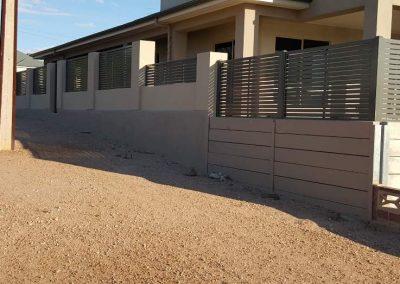 Leabrook Design Horizontal Slats 50x10. Wallaroo Woodland Grey