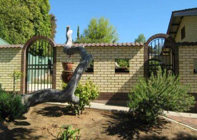 Marino Design Arched 40x10 Flat Bar Banksia Park Hammersley Brown