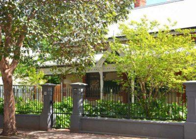 St Peters Design 40x10 Flat Bar Top Rail 40 Square Bottom Rail Extra Rail in Gate Prospect Satin Black