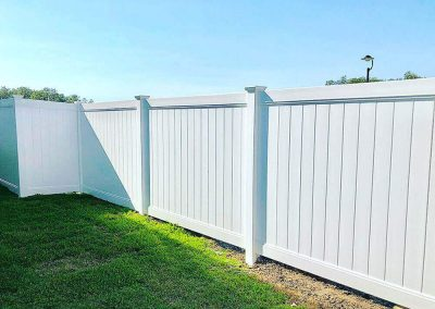 Privacy Fencing 1800mm High White