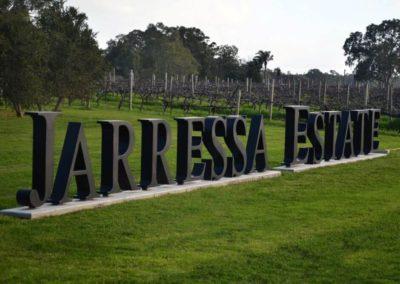 3D Letters - Jarressa Estate Winery